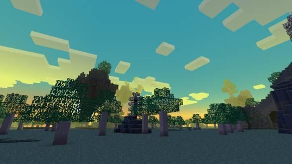 Скриншот из мира