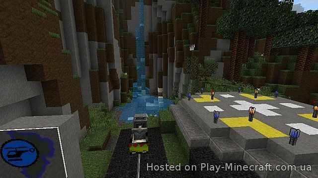 Скачать JurassiCraft для Minecraft 1.7.10 - RU-M.ORG